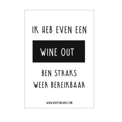 Wine out